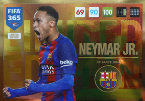 UPDATE 2017 FIFA 365 LIMITED NEYMAR Jr.