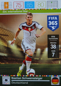 2016 FIFA 365 INTERNATIONAL STAR Bastian Schweinsteiger #334