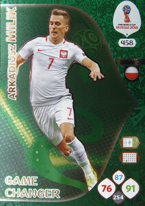 WORLD CUP RUSSIA 2018 GAME CHANGE MILIK 458