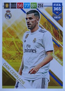 UPDATE 2019 FIFA 365 TEAM MATE Dani Ceballos #UE15