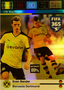2016 FIFA 365 KEY PLAYER Sven Bender #176