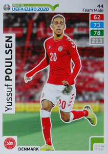 ROAD TO EURO 2020 TEAM MATE Yussuf Poulsen 44