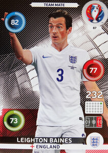 EURO 2016 TEAM MATE Leighton Baines #87