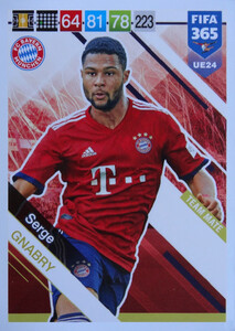 UPDATE 2019 FIFA 365 TEAM MATE Serge Gnabry #UE24