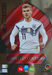WORLD CUP RUSSIA 2018 LIMITED 	NIEMCY Timo Werner
