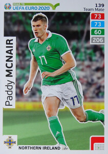 ROAD TO EURO 2020 TEAM MATE Paddy McNair 139