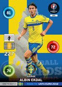 ROAD TO EURO 2016 ONE TO WATCH Albin Ekdal #260