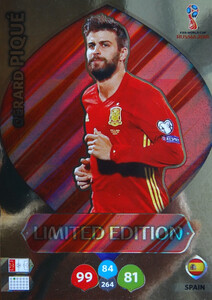 WORLD CUP RUSSIA 2018 LIMITED HISZPANIA Gerard Pique