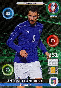 EURO 2016 TEAM MATE Antonio Candreva #178