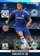 2014/15 CHAMPIONS LEAGUE® TEAM MATE Eden Hazard #121