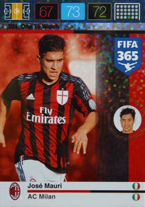 2016 FIFA 365 ONE TO WATCH José Mauri #204
