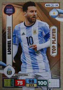 ROAD TO RUSSIA 2018 TOP PLAYER ARGENTYNA MESSI 14