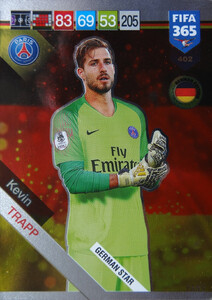 2019 FIFA 365 GERMAN STAR Kevin Trapp #402