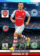 2014/15 CHAMPIONS LEAGUE® TEAM MATE Jack Wilshere #49