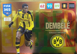 UPDATE 2017 FIFA 365 LIMITED DEMBELE