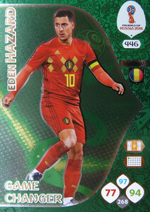 WORLD CUP RUSSIA 2018 GAME CHANGER HAZARD 446