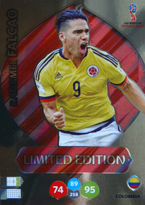 WORLD CUP RUSSIA 2018 LIMITED KOLUMBIA  Radamel Falcao