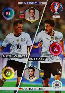 EURO 2016 NEXT GENERATION  Ginter /  Can #77