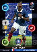 ROAD TO EURO 2016 TEAM MATE Paul Pogba #85