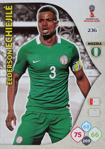 WORLD CUP RUSSIA 2018 TEAM MATE NIGERIA ECHIEJILE 236