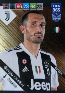 2019 FIFA 365 UPDATE CAPTAINS Giorgio Chiellini #106