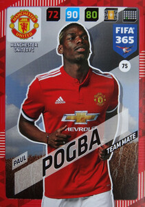 2018 FIFA 365 TEAM MATE Paul Pogba #75
