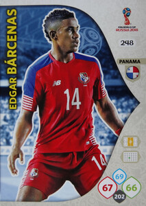 WORLD CUP RUSSIA 2018 TEAM MATE PANAMA BARCENAS 248