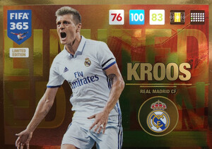 UPDATE 2017 FIFA 365 LIMITED KROOS