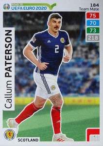 ROAD TO EURO 2020 TEAM MATE Callum Paterson 184
