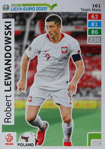 ROAD TO EURO 2020 TEAM MATE Robert Lewandowski 161