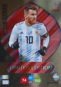 WORLD CUP RUSSIA 2018 LIMITED ARGENTYNA 	Lionel Messi