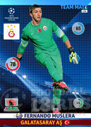2014/15 CHAMPIONS LEAGUE® TEAM MATE Fernando Muslera #136