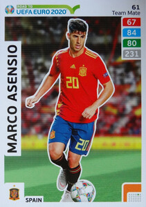 ROAD TO EURO 2020 TEAM MATE  Marco Asensio 61