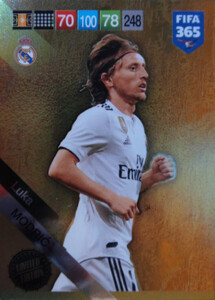 2019 FIFA 365 UPDATE LIMITED EDITION  MODRIC