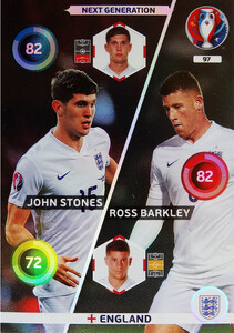 EURO 2016 NEXT GENERATION  Stones /  Barkley #97