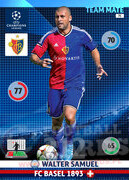 2014/15 CHAMPIONS LEAGUE® TEAM MATE Walter Samuel #75