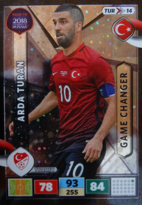 ROAD TO RUSSIA 2018 GAME CHANGER TURCJA TURAN 14