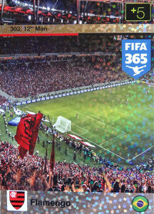 2016 FIFA 365 12th FLAMENGO #303