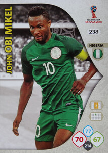 WORLD CUP RUSSIA 2018 TEAM MATE NIGERIA OBI MIKEL 238