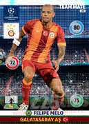 2014/15 CHAMPIONS LEAGUE® TEAM MATE Felipe Melo #140