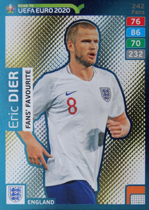 ROAD TO EURO 2020 FANS FAVOURITE Eric Dier #242