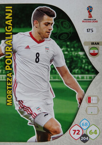 WORLD CUP RUSSIA 2018 TEAM MATE IRAN POURALIGANJI 175