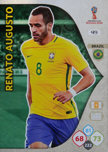 WORLD CUP RUSSIA 2018 BRAZYLIA TEAM AUGUSTO 49