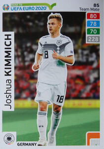 ROAD TO EURO 2020 TEAM MATE Joshua Kimmich 85
