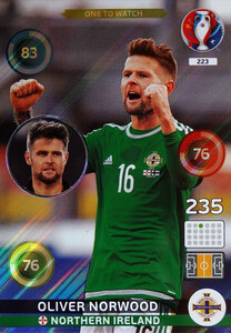 EURO 2016 ONE TO WATCH Oliver Norwood #223