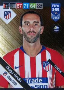 2019 FIFA 365 UPDATE CAPTAINS Diego Godín #98