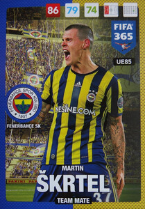 UPDATE 2017 FIFA 365 TEAM MATE MARTIN SKRTEL #85