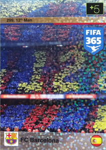 2016 FIFA 365 12th MAN FC BARCELONA #299
