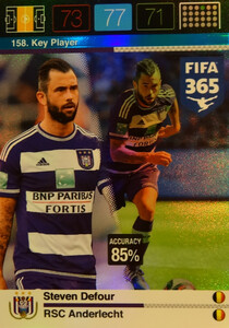 2016 FIFA 365 KEY PLAYER Steven Defour #158