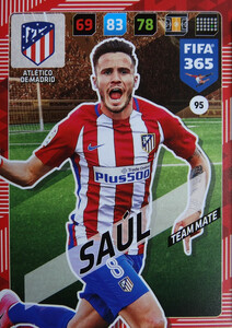 2018 FIFA 365 TEAM MATE Saúl #95